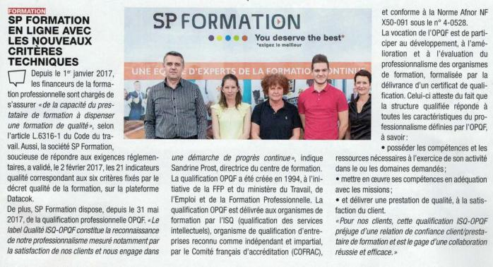 Article qualite eco sp formation 260617