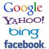 Google yahoo bing facebook
