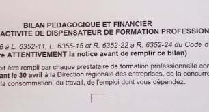 Image bilan pedagogique et financier 1