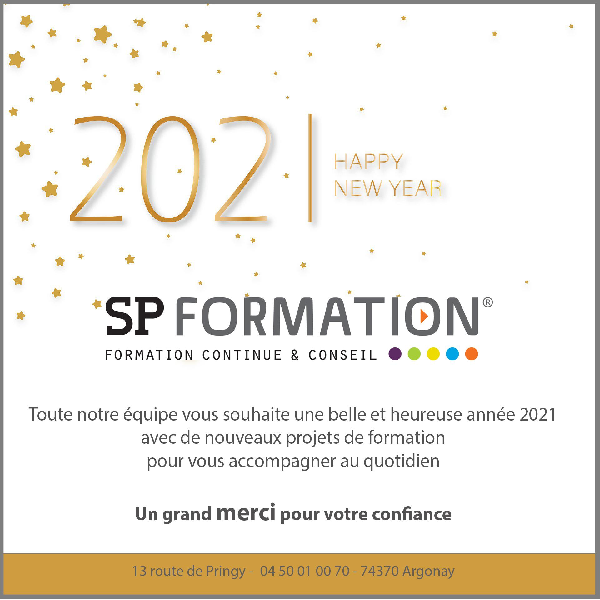 New year 2021 spformation